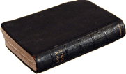 Picture of an old Bible